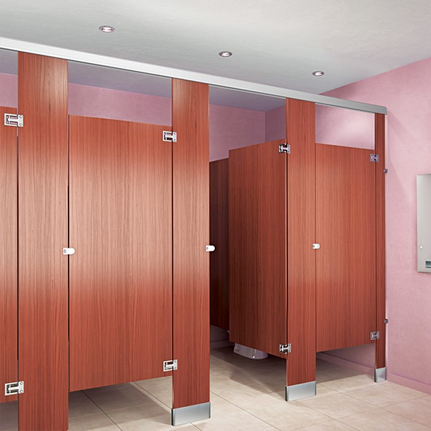 Plastic Laminate Toilet Partitions