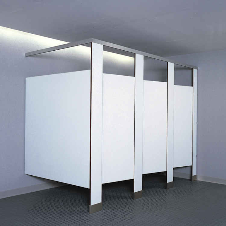 Floor Mounted Overhead Braced Toilet Partitions