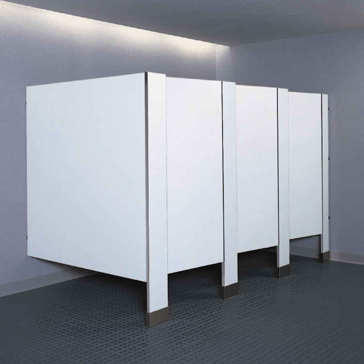 Floor Mounted Toilet Partitions